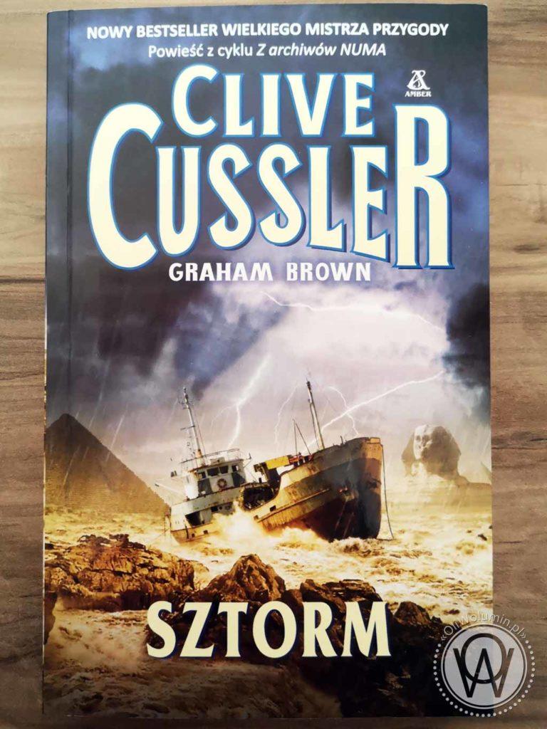 Clive Cussler Sztorm