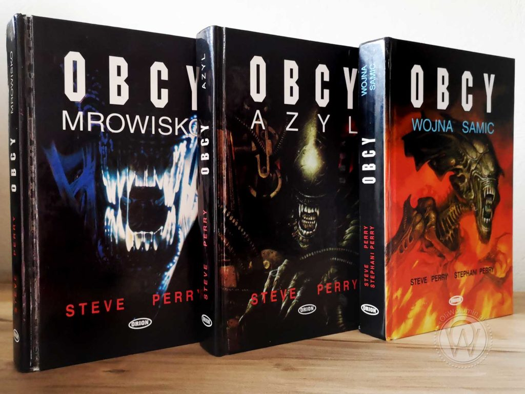 Steve Perry Cykl Obcy