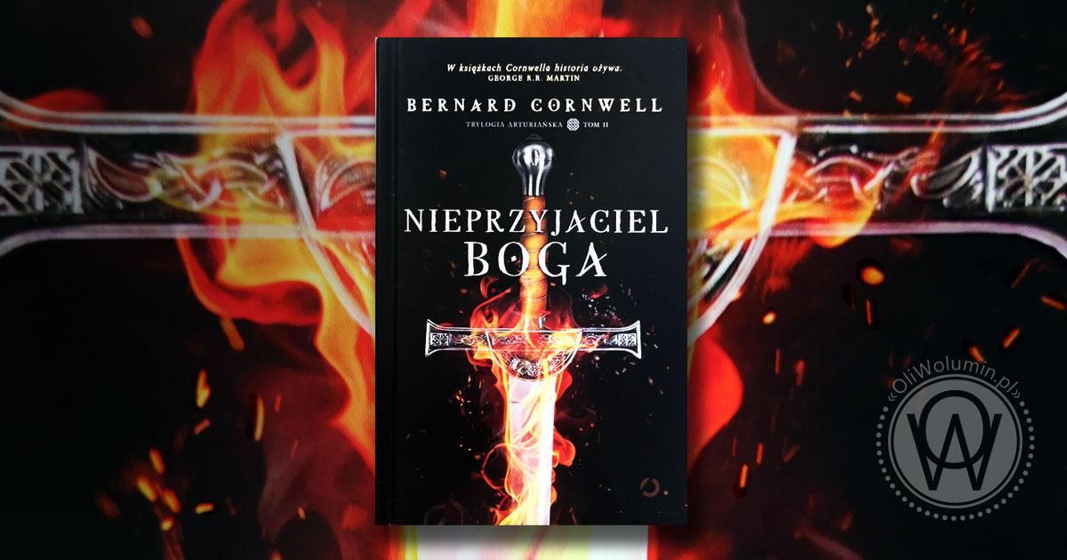 """Recenzja """"Nieprzyjaciel Boga"""" Bernard Cornwell"""