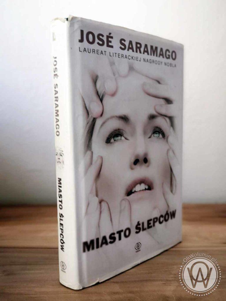 """José Saramago """"Miasto ślepców"""""""