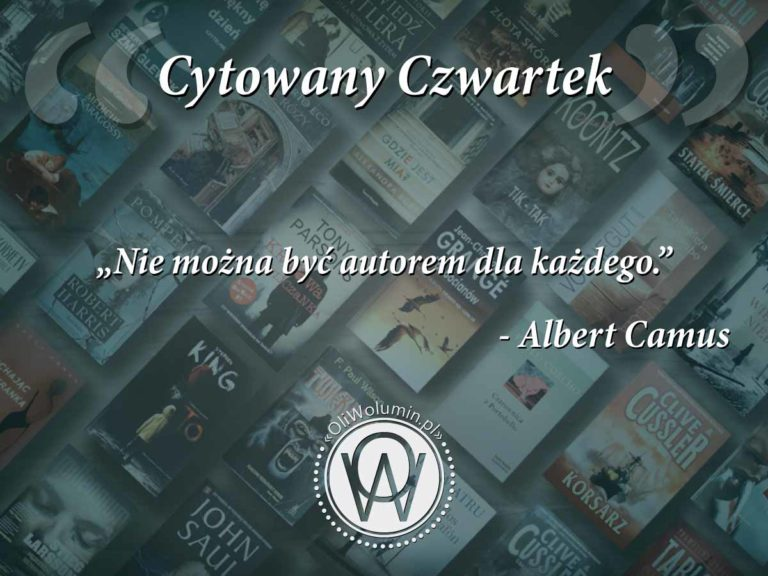 Cytowany Czwartek - Albert Camus