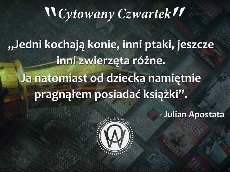 Cytowany Czwartek - Julian Apostata