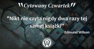 Cytowany Czwartek - Edmund Wilson