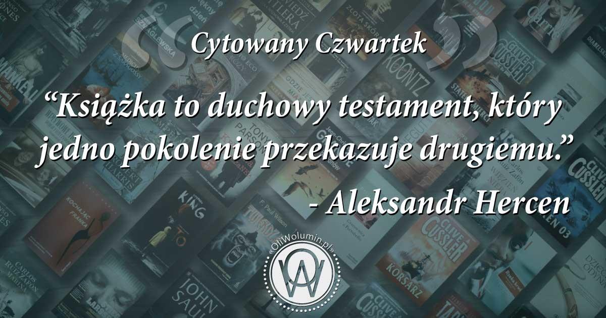Cytowany Czwartek Aleksandr Hercen