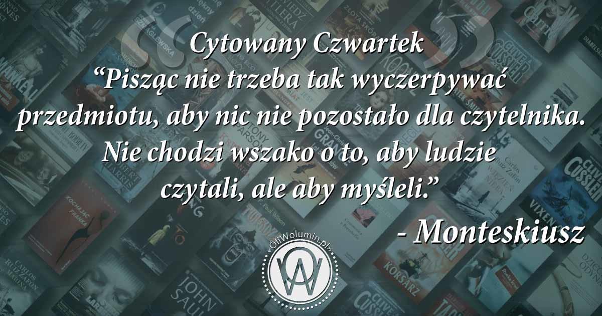 Cytowany Czwartek - Monteskiusz