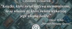 Cytowany Czwartek Oscar Wilde