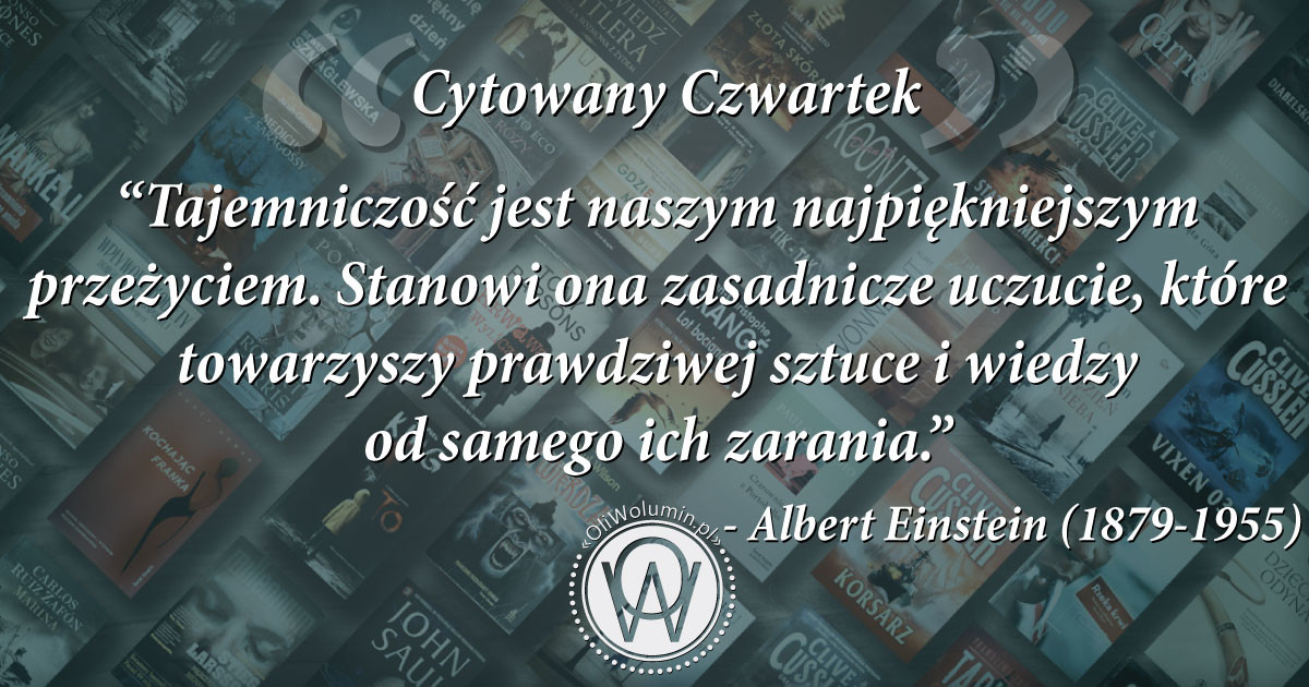 Cytowany Czwartek - Albert Einstein